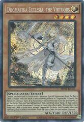 Dogmatika Ecclesia, the Virtuous - MP21-EN101 - Prismatic Secret Rare - 1st Edition