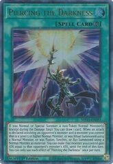 Piercing the Darkness - MP21-EN257 - Ultra Rare - 1st Edition