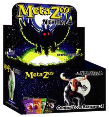 MetaZoo: Cryptid Nation  Nightfall Booster Box Display 1st Edition