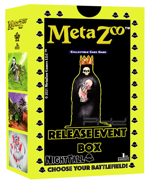 MetaZoo: Cryptid Nation - Nightfall Release Event Box