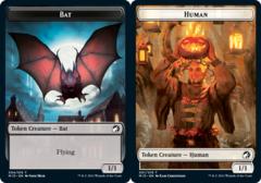 Bat Token // Human Token - Foil