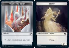 Emblem - Wrenn // Spirit Token - Foil
