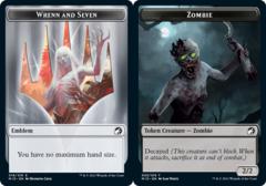 Emblem - Wrenn // Zombie Token (005) - Foil