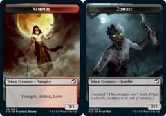Vampire Token // Zombie Token (005) - Foil