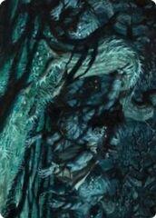 Unnatural Moonrise Art Card
