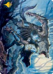 Moonrage Brute Art Card - Gold-Stamped Signature