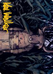 Fleshtaker Art Card - Gold-Stamped Signature
