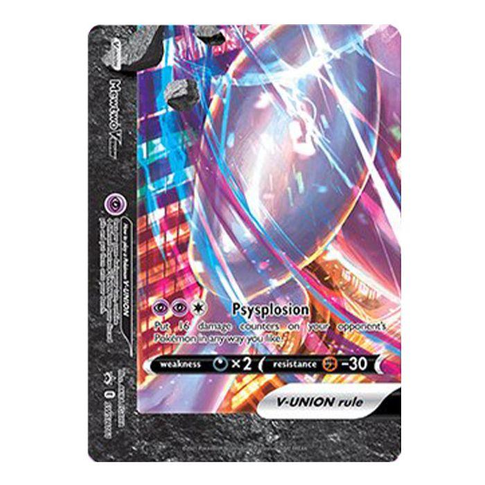Mewtwo V-Union - SWSH161 - SWSH Black Star Promos