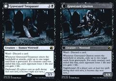 Graveyard Trespasser // Graveyard Glutton - Foil - Prerelease Promo