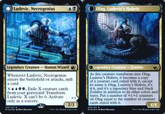 Ludevic, Necrogenius // Olag, Ludevic's Hubris - Foil - Prerelease Promo