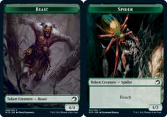 Beast Token (008) // Spider Token