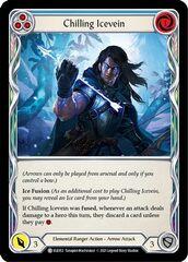 Chilling Icevein (Blue) - Rainbow Foil - 1st Edition