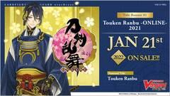 Cardfight!! Vanguard overDress: Title Booster 01 Touken Ranbu -ONLINE- 2021 Booster Box