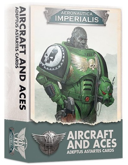 Aeronautica Imperialis: Aircraft And Aces - Adeptus Astartes Cards