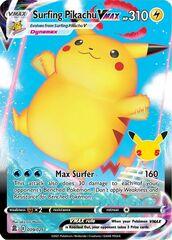 Surfing Pikachu VMAX - 009/025 - Ultra Rare