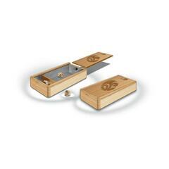 Premium Wood Dice Box
