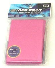 Dek Prot 50ct. Yugioh Sized Sleeves - Rose Red