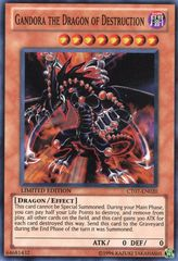 Gandora the Dragon of Destruction - CT07-EN020 - Super Rare - Limited Edition