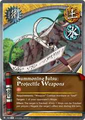Summoning Jutsu: Projectile Weapons - J-708 - Uncommon - 1st Edition
