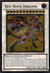 Red Nova Dragon - Ultimate - STBL-EN042 - Ultimate Rare - 1st