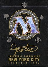 1996 Mark Justice World Champ Deck