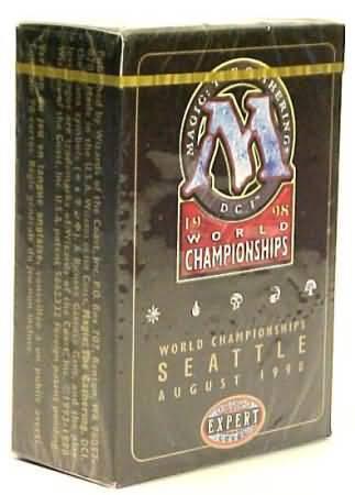 1998 Ben Rubin World Champ Deck