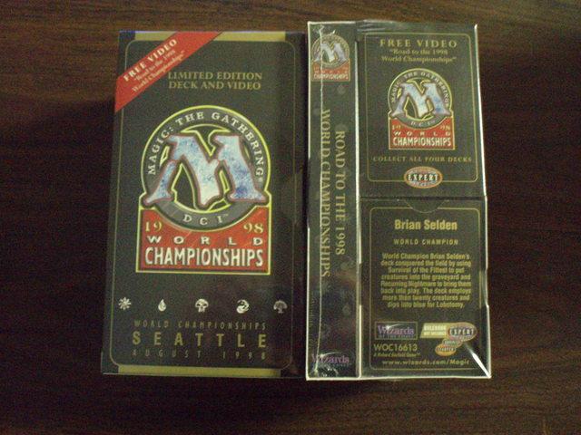 1998 Brian Selden World Champ Deck w/VHS