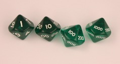 D10,000 translucent green set