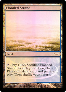 Flooded Strand PROMO - Foil DCI Judge Promo