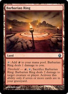 Barbarian Ring - Foil