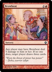 Browbeat - Foil on Channel Fireball