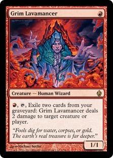 Grim Lavamancer - Foil