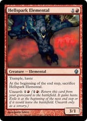 Hellspark Elemental - Foil on Channel Fireball