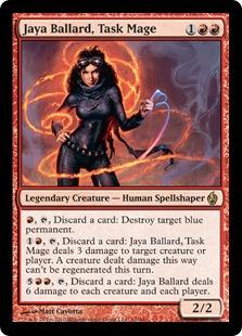 Jaya Ballard, Task Mage - Foil
