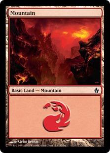 Mountain (32) - Foil