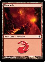 Mountain (33) - Foil on Channel Fireball