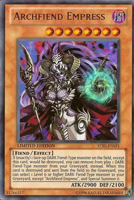 Archfiend Empress - STBL-ENSP1 - Ultra Rare - Limited Edition
