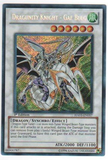 Dragunity Knight - Gae Bulg - HA03-EN057 - Secret Rare - 1st Edition