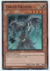 Fabled Urustos - HA03-EN001 - Super Rare - 1st Edition