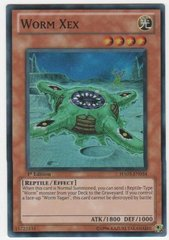 Worm Xex - HA03-EN054 - Super Rare - 1st Edition
