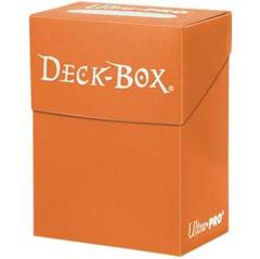 Ultra Pro Standard Orange Deck Box