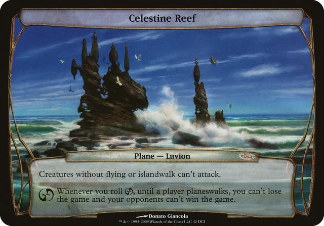 Celestine Reef (Zendikar PreRelease) (Oversized)