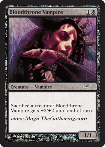 Bloodthrone Vampire - 2011 Convention Promo