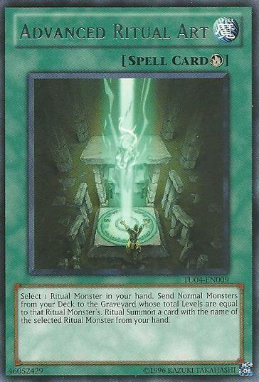 Advanced Ritual Art - TU04-EN009 - Rare - Unlimited Edition