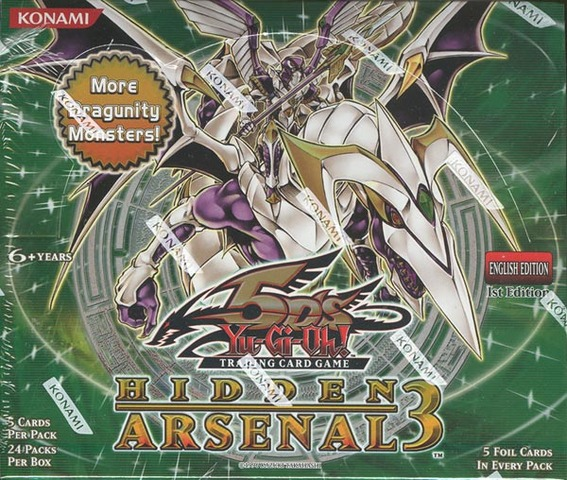 Yu-Gi-Oh Hidden Arsenal #3 1st Edition Booster Box