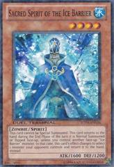 Sacred Spirit of the Ice Barrier - DT04-EN034 - Parallel Rare - Duel Terminal