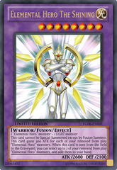 Elemental Hero The Shining - YG06-EN001 - Ultra Rare - Limited Edition