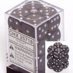 12 Ninja Speckled 16mm D6 Dice Block - CHX25718