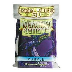Dragon Shield 50 Count Yugioh Sized Sleeves - Purple