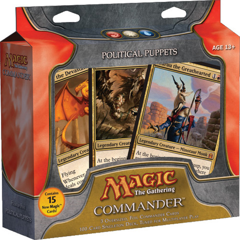 MTG Commander 2011 Deck: Political Puppets